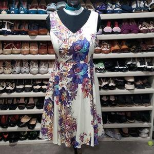 Eva Rose Vintage Style Floral Dress